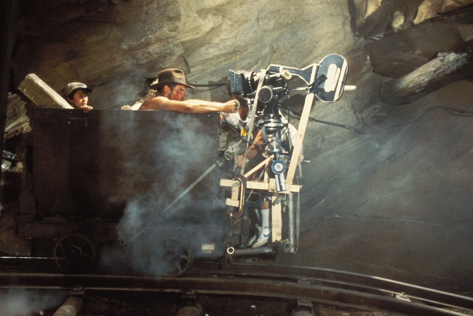 photo tournage coulisse cinema IndianaJones 25 Photos sur des tournages de films #2