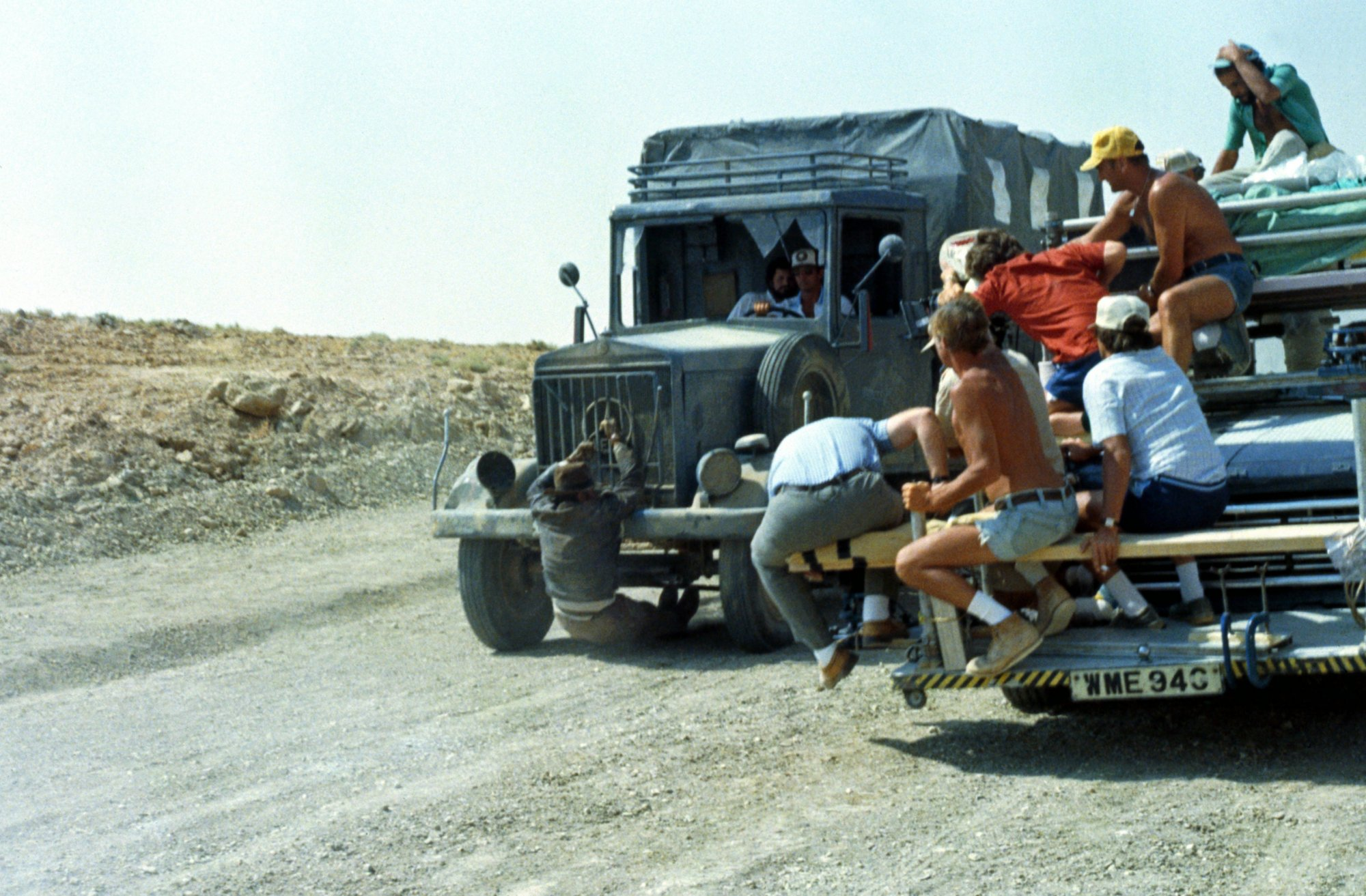 photo tournage coulisse cinema IndianaJones2 26 Photos sur des tournages de films #2