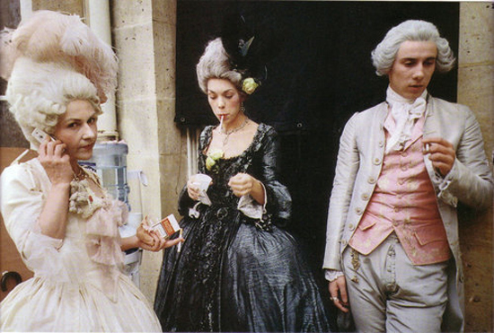 photo tournage coulisse cinema Marie Antoinette 31 Photos sur des tournages de films #2  photo featured cinema 2 bonus