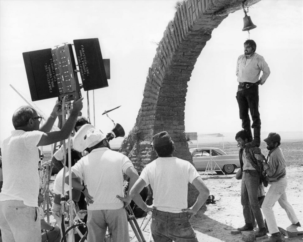 photo tournage coulisse cinema OnceInTheWest 27 Photos sur des tournages de films #2  photo featured cinema 2 bonus