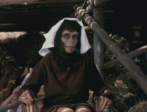 photo tournage coulisse cinema PlanetofTheApes1 38 Photos sur des tournages de films #2