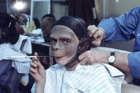 photo tournage coulisse cinema PlanetoftheApes 4 41 Photos sur des tournages de films #2