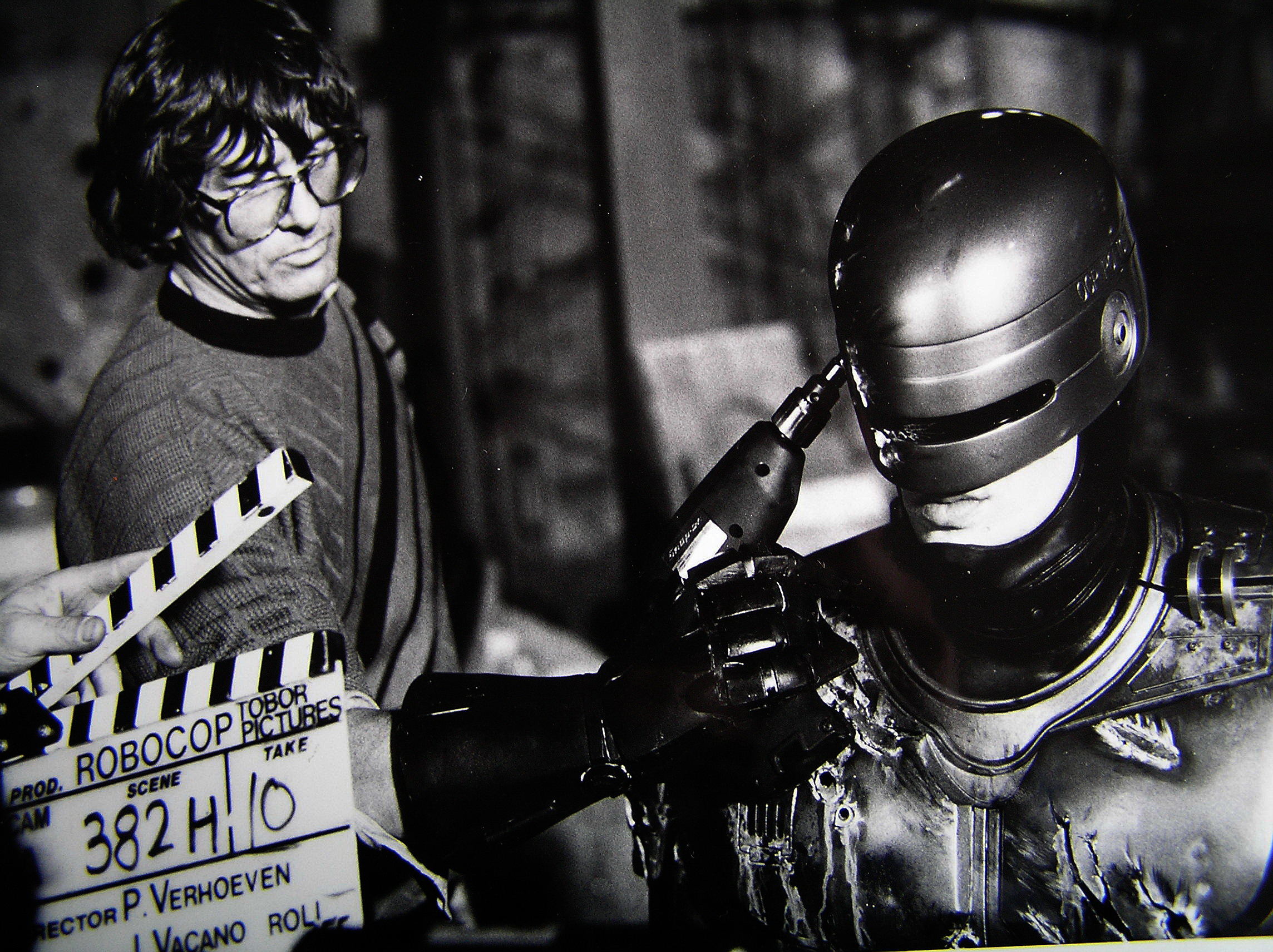 photo tournage coulisse cinema Robocop 55 Photos sur des tournages de films #2