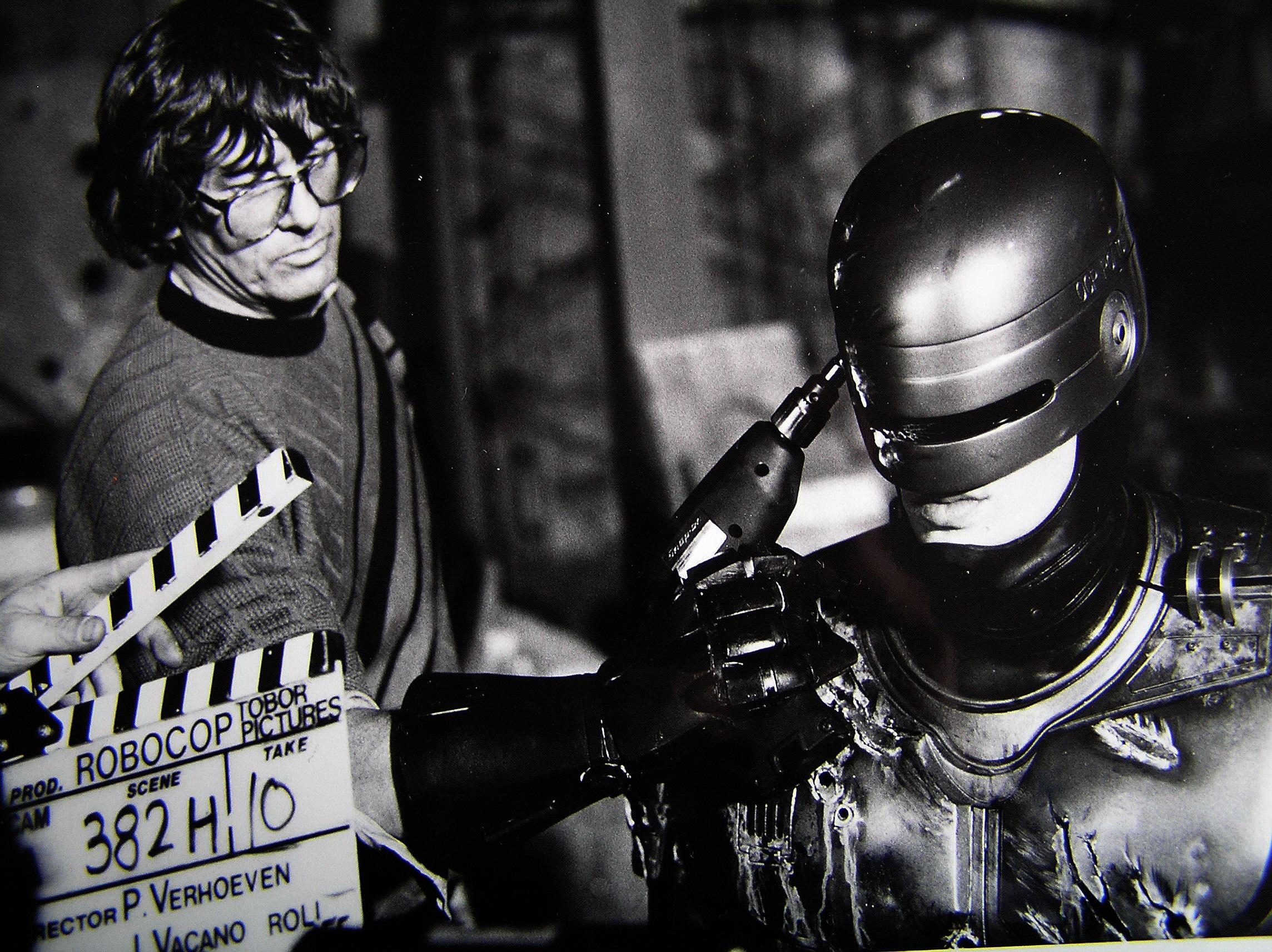 photo tournage coulisse cinema Robocop 55 Photos sur des tournages de films #2