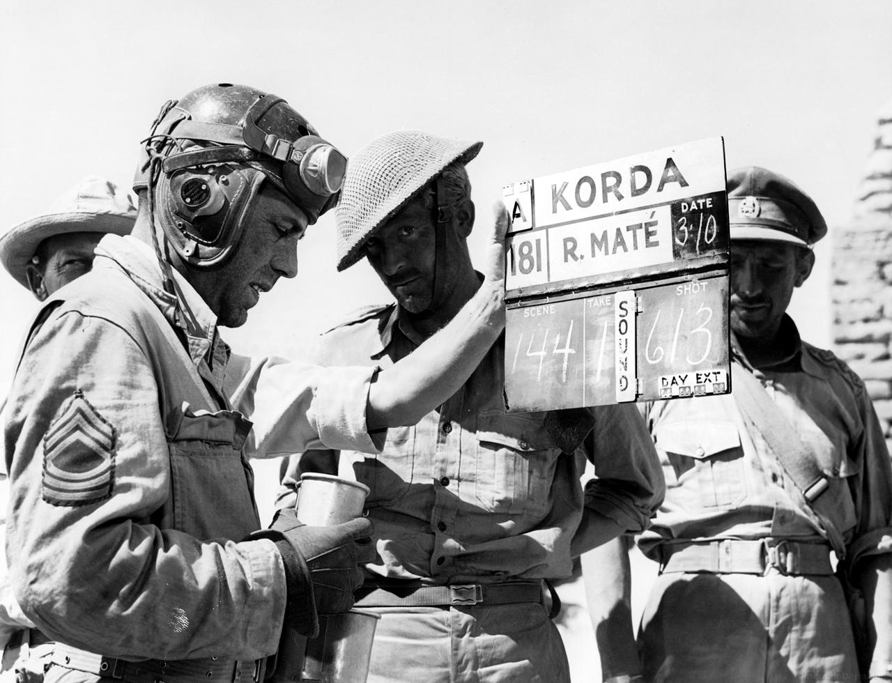 photo tournage coulisse cinema Sahara 17 Photos sur des tournages de films #2