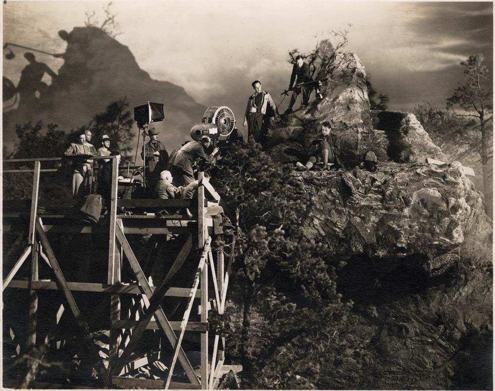 photo tournage coulisse cinema Sergeant York 18 Photos sur des tournages de films #2
