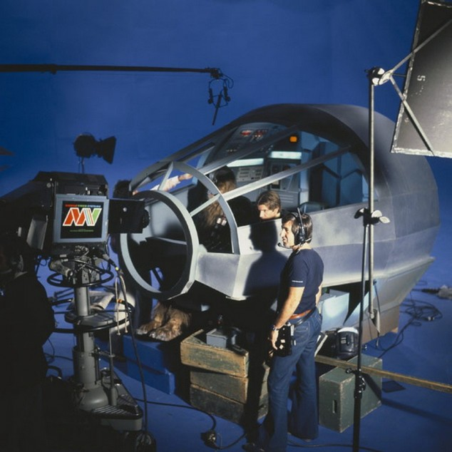 photo tournage coulisse cinema StarWars 48 Photos sur des tournages de films #2