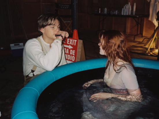 photo tournage coulisse cinema Titanic 43 Photos sur des tournages de films #2