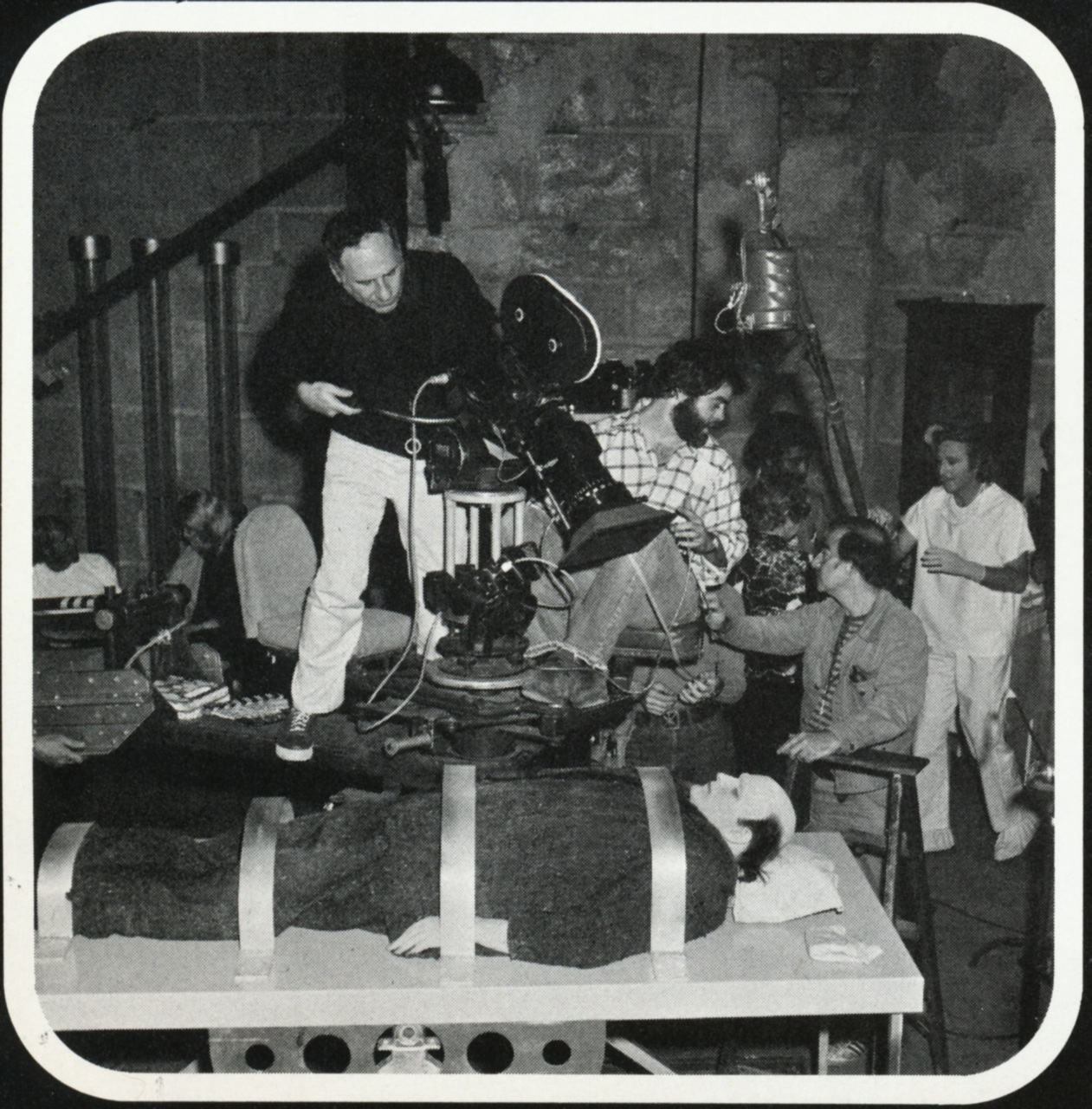 photo tournage coulisse cinema YoungFrankenstein 35 Photos sur des tournages de films #2