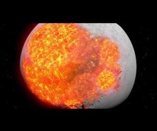 L'évolution de la Lune