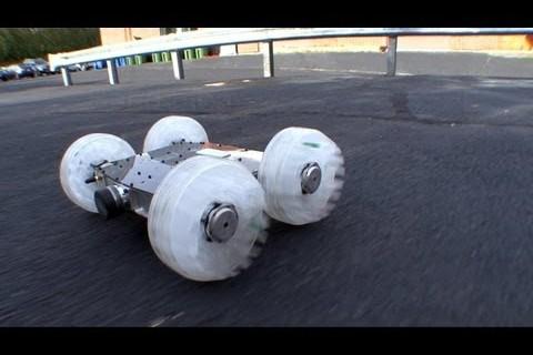 Un robot sauteur