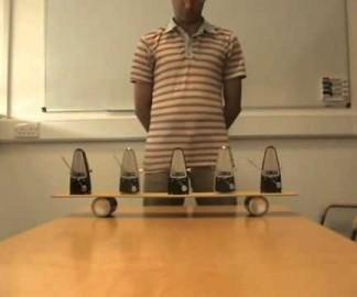 Synchronisation de métronomes