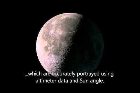 La Lune en 2012
