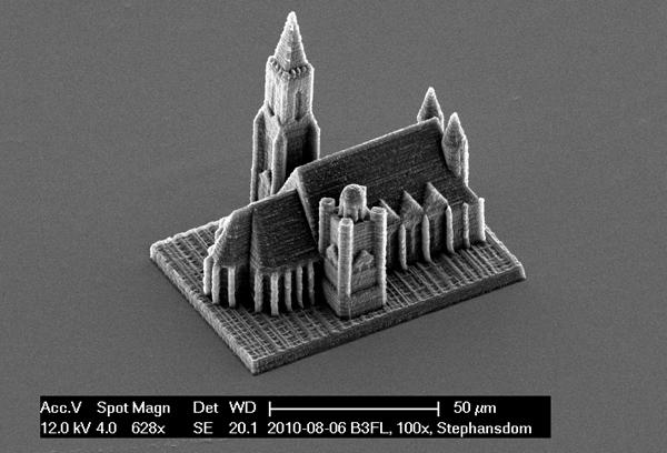 imprimante 3d micrometrique 03 Une imprimante 3D nanométrique
