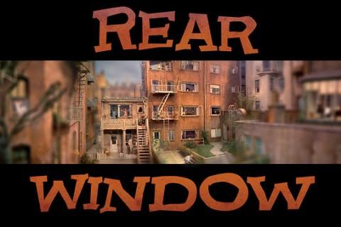 Timelapse panoramique du film Fenêtre sur cour