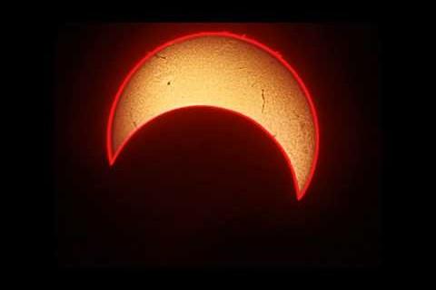 L'éclipse solaire du 20 mai 2012