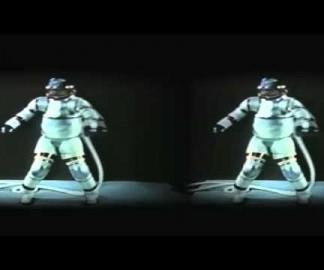 Un ballet de combinaisons spatiales