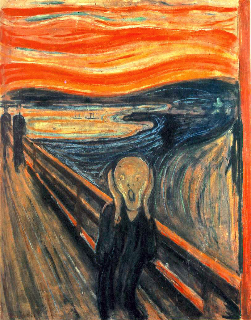 EdvardMunch TheScream 1893 Les 5 versions de Le Cri dEdvard Munch