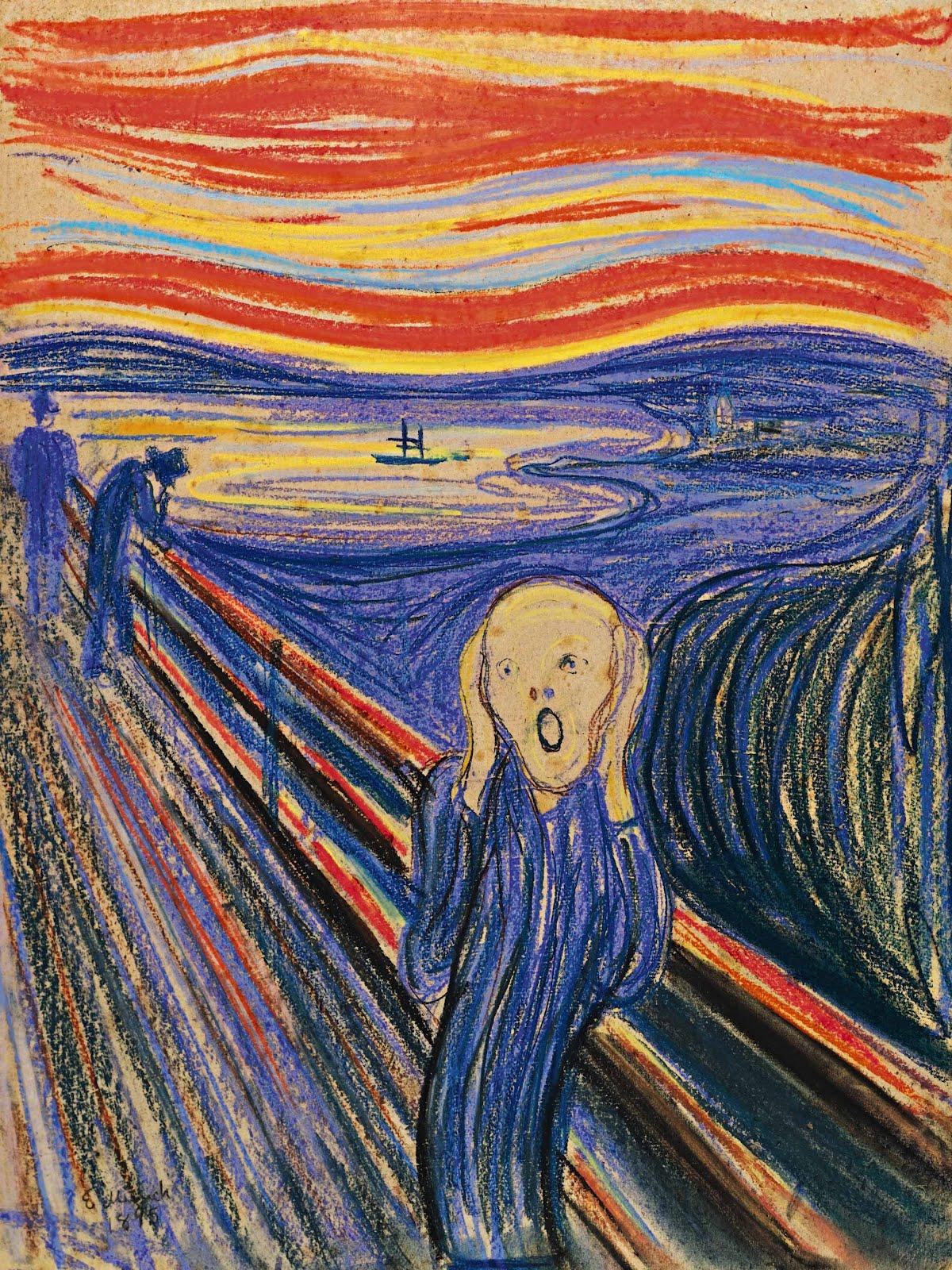 Les 5 Versions De Le Cri D Edvard Munch