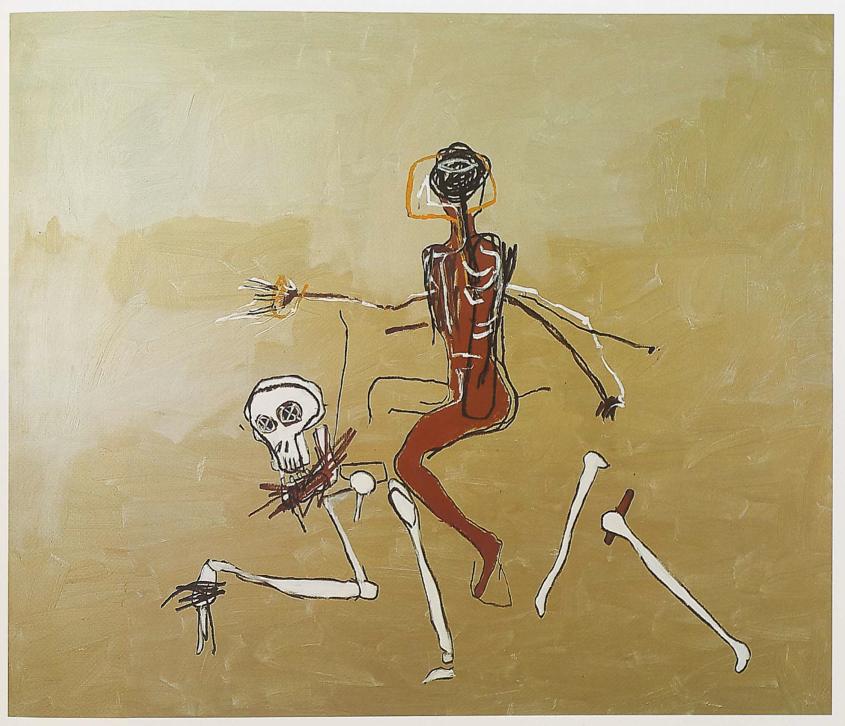 Jean Michel Basquiat Leur dernière oeuvre