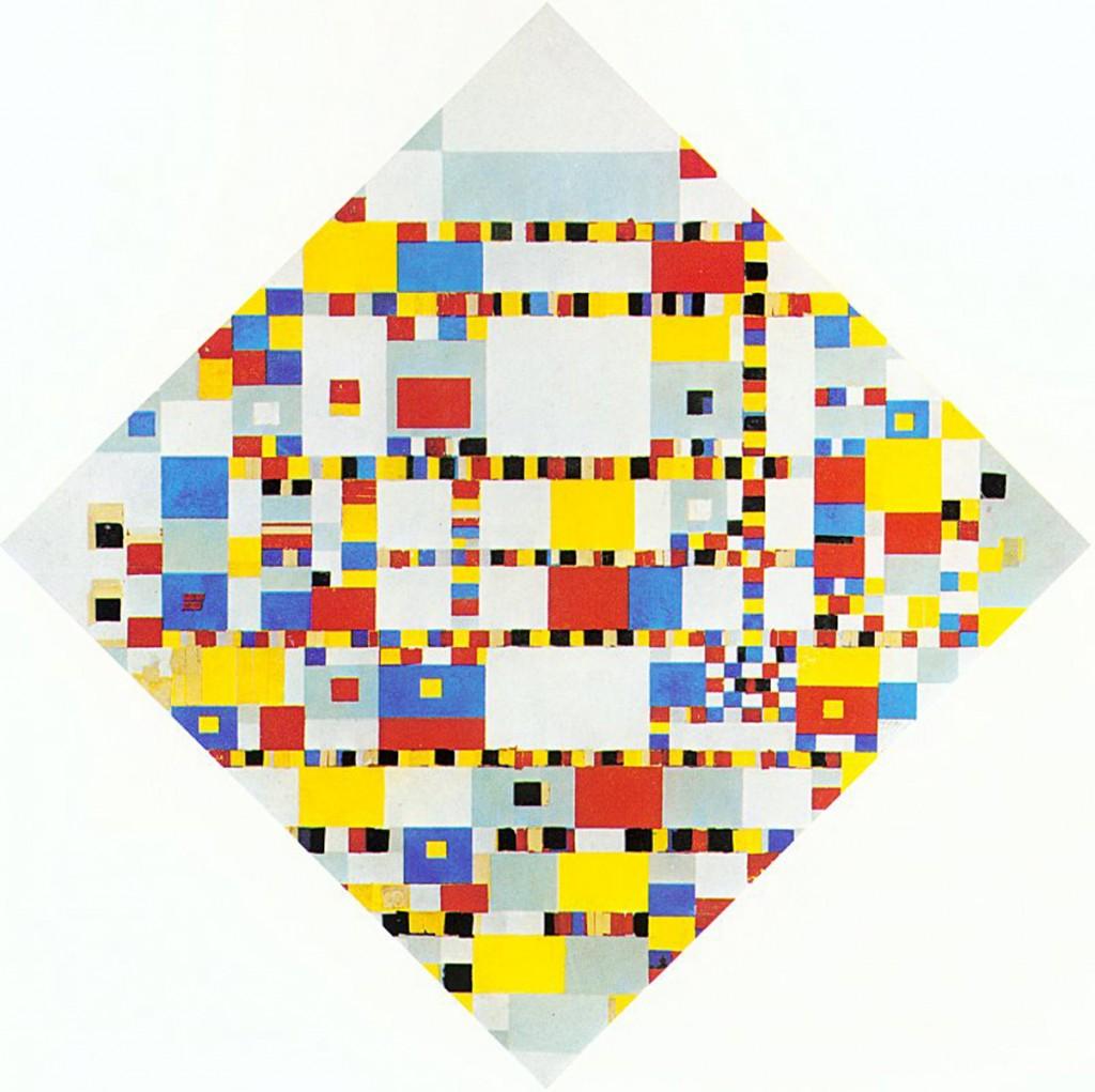 Piet Mondrian Leur dernière oeuvre