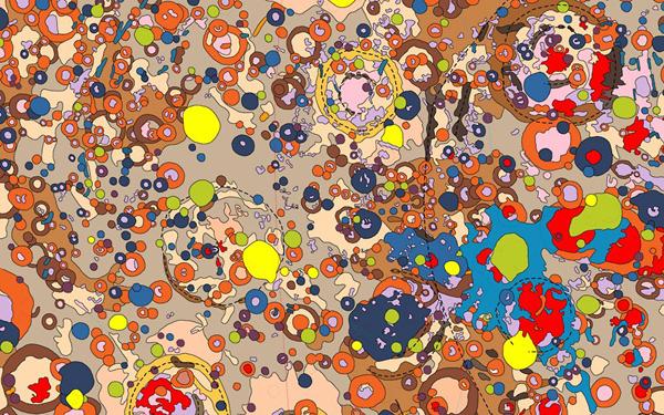 carte geologie planete 01 Cartes géologiques du système solaire