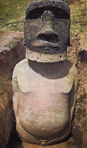 Le corps des statues Moaï de l'Île de Pâques ! (vidéo sur Bidfoly.com) By Laboiteverte Corp-statue-ile-paque-05