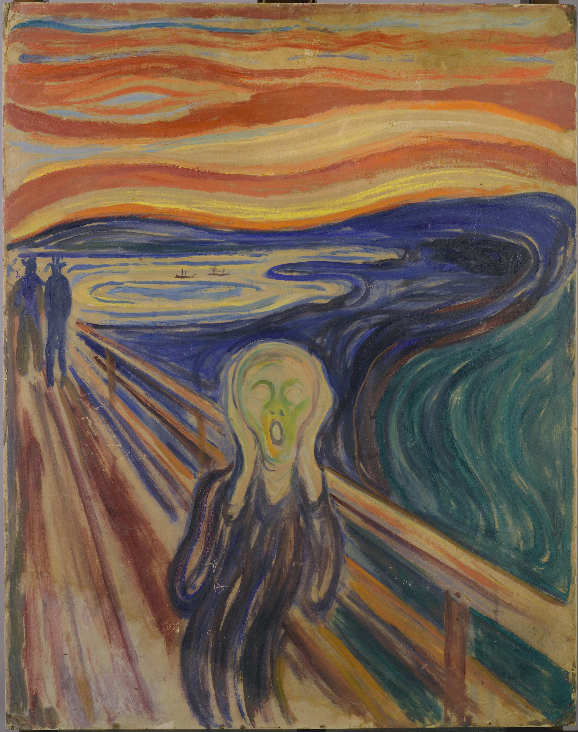 le cri 1910 Les 5 versions de Le Cri dEdvard Munch