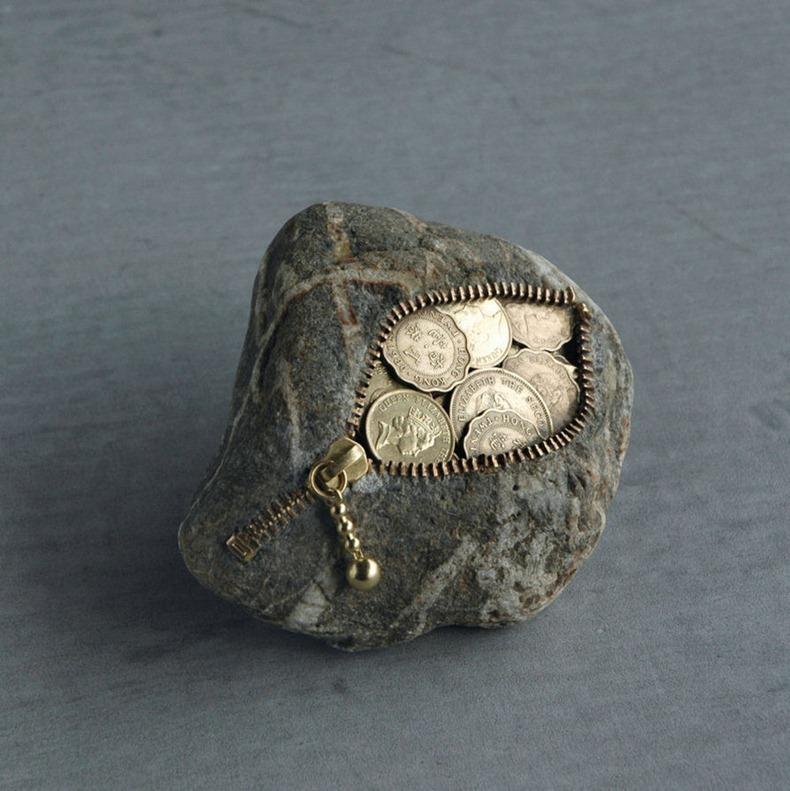 objet pierre 07 Des objets en pierre  bonus art