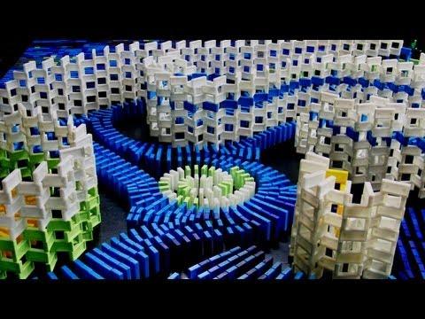 Une nuit étoilée de dominos