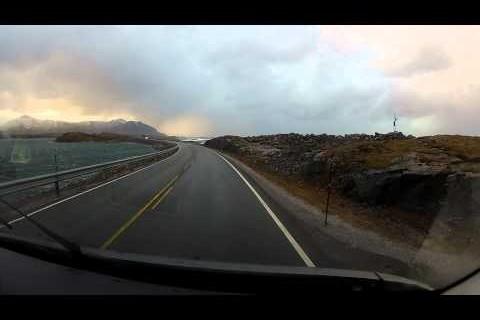 La route norvégienne de l'Atlantique
