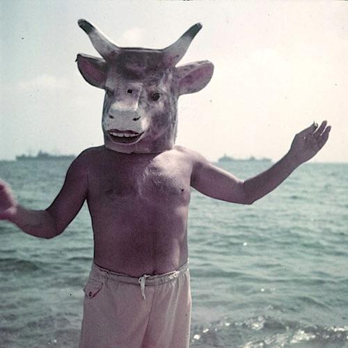 mystere 12 [Mystère #12] Pablo Picasso avec un masque de taureau