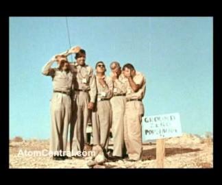 6 gars sous une explosion nucléaire