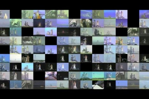 Les 135 lancements de Navette Spatiale en même temps