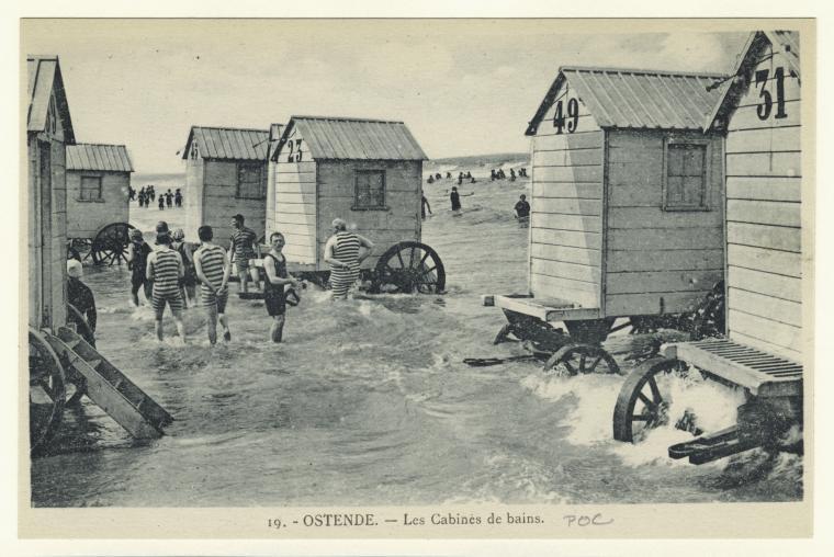 machine bain cabine plage mer 15 Des cabines de bain mobiles pour se baigner en toute dignité