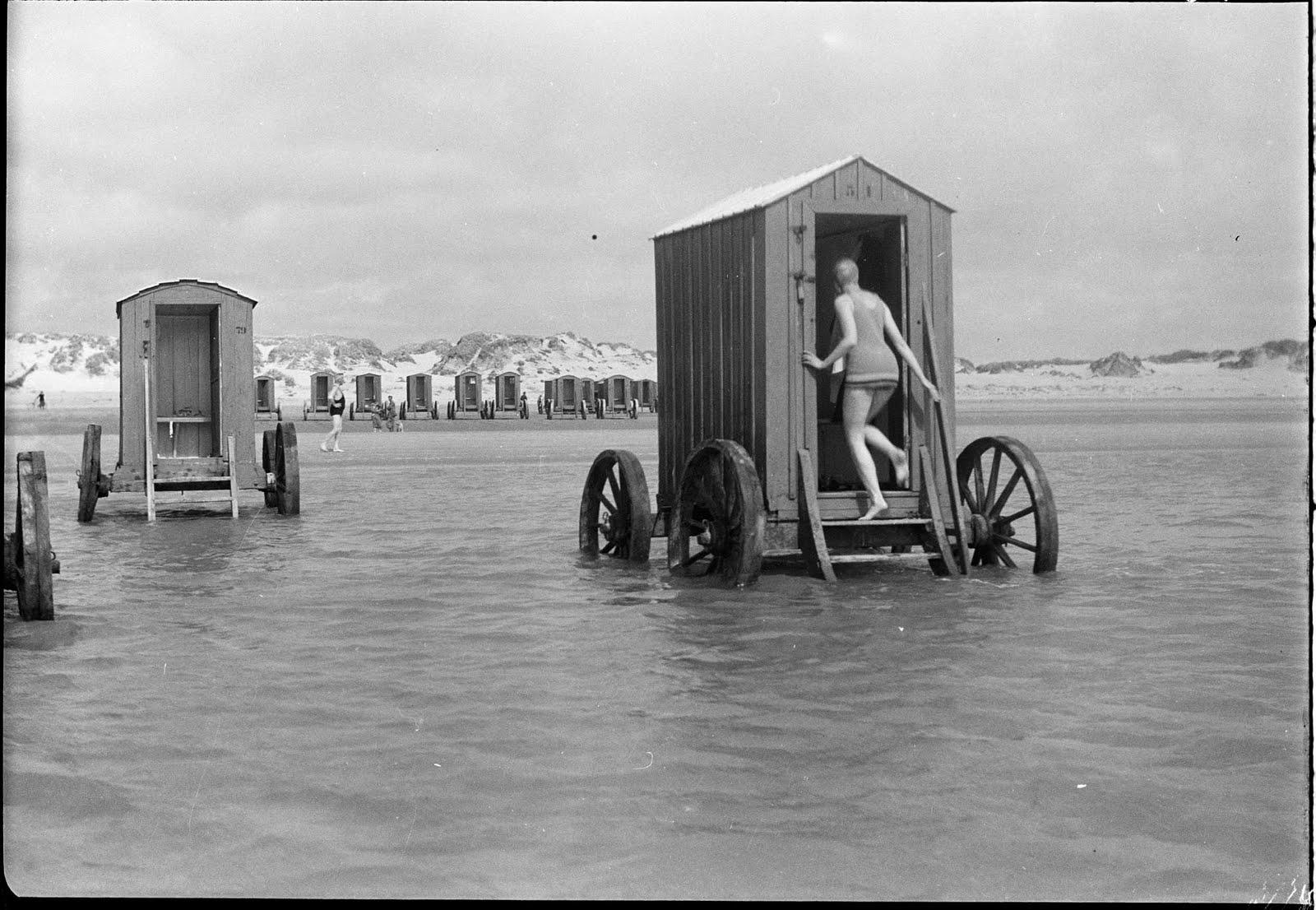 machine bain cabine plage mer 26 Des cabines de bain mobiles pour se baigner en toute dignité