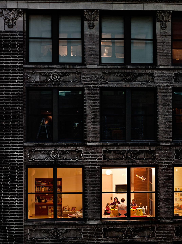 Du voyeurisme travers les fen tres de new york la for Fenetre new york
