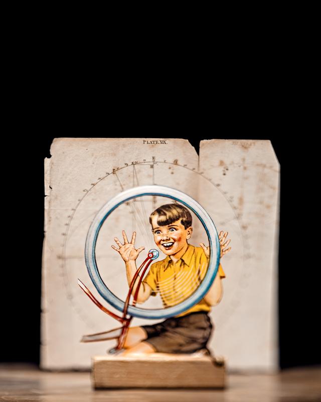 allen 5 Illustrations en livres découpés
