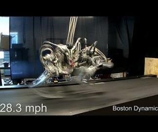 Le robot Cheetah court à 45km/h