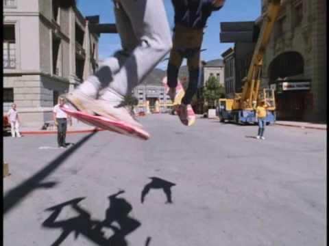 Les tests de l'hoverboard de Retour vers le futur 2