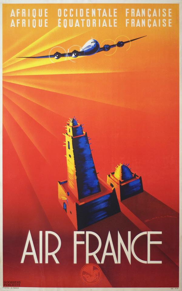 Top Anciennes affiches d'Air France HQ58