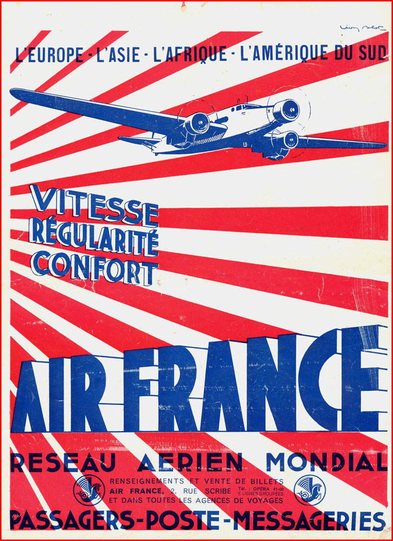 anciennes affiches d 39 air france. Black Bedroom Furniture Sets. Home Design Ideas