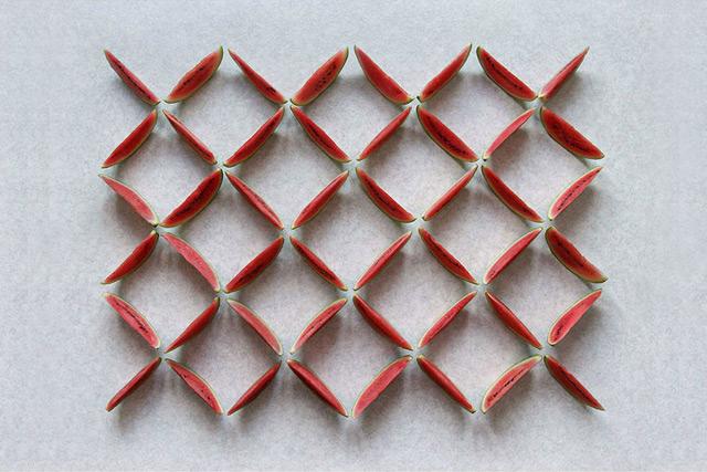fruit geometrique 07 Des fruits géométriques