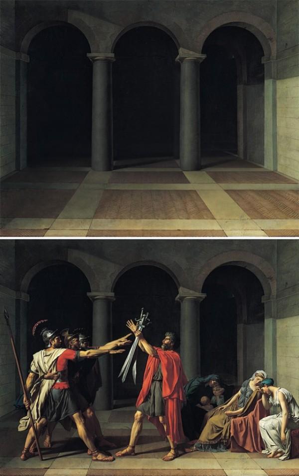 peinture sans personne 02 Des peintures inhabitées