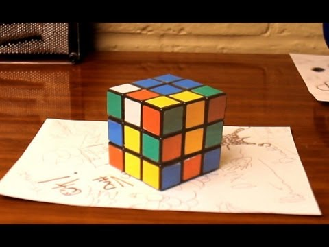 Des illusions d'optique en anamorphoses