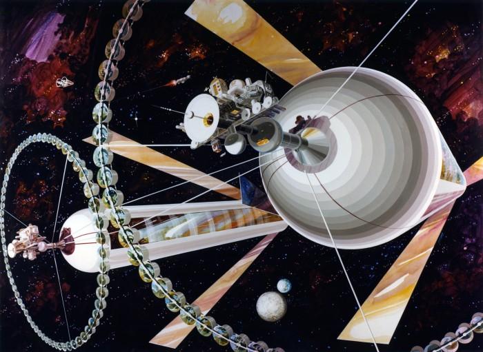 Des colonies dans l'espace ! By Laboiteverte Colonie-espace-nasa-07-700x511