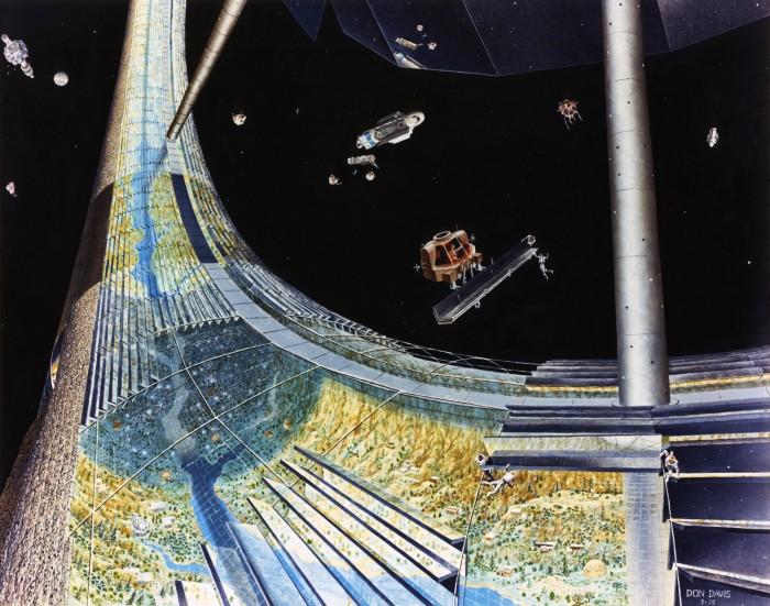 Des colonies dans l'espace ! By Laboiteverte Colonie-espace-nasa-08-700x551