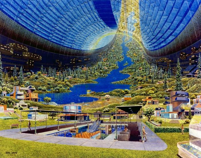 Des colonies dans l'espace ! By Laboiteverte Colonie-espace-nasa-09-700x553