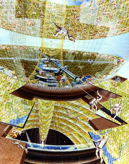Des colonies dans l'espace ! By Laboiteverte Colonie-espace-nasa-12-519x660