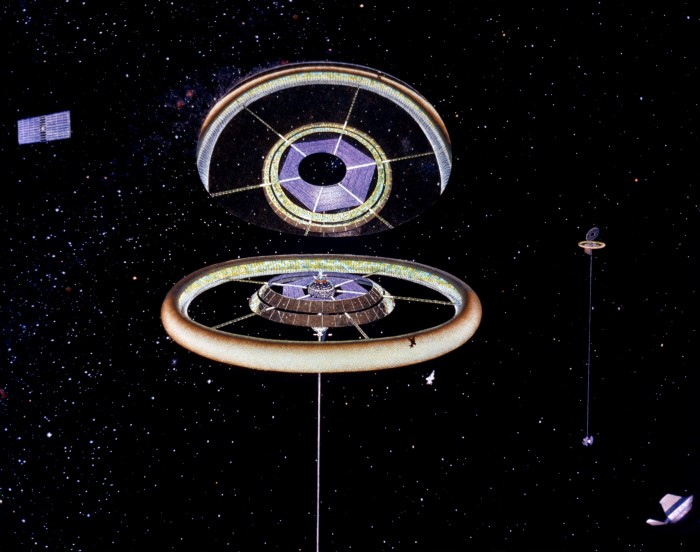 Des colonies dans l'espace ! By Laboiteverte Colonie-espace-nasa-14-700x552